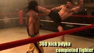 نعلم ركلة 360 المميتة بطريقة بويكا ـ المقاتل المتكامل 360Yuri boyca kick tutorial mma
