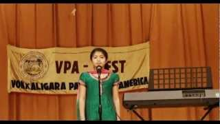 Shreya Halur's Speech at VPA-W Yugadi event