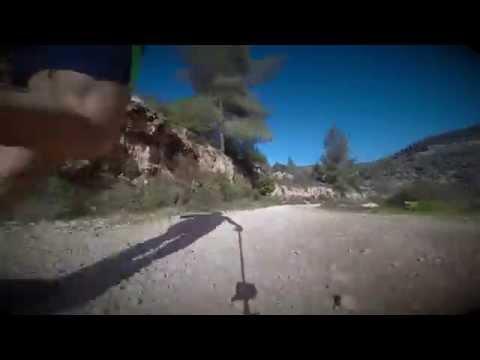 GoPro: Trail running from Ein Hindak to Sataf, Israel (GoPro)