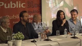Youweekly.gr: Συνέντευξη τύπου « Γοργόνες και μάγκες» Μαρία Κορινθίου κλάμα...