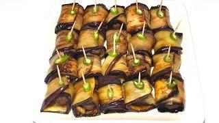 Eggplant Wrap/roll With Meatballs |ورپ/رول بادنجان سياه با گوشت كوفته اى | by Miss Fariba