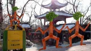 Dancing Carrot Man