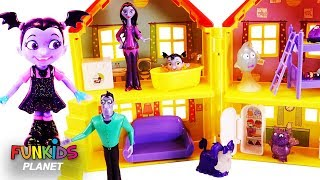 Vampirina Doll House with Paw Patrol Surprises