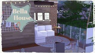 Sims 4 - Bella House Part1 (Modern House)