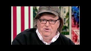 'Evil genius' Trump will be 'last president of US', filmmaker Michael Moore warns