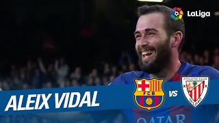 Golazo de Aleix Vidal (3-0) FC Barcelona vs Athletic Club