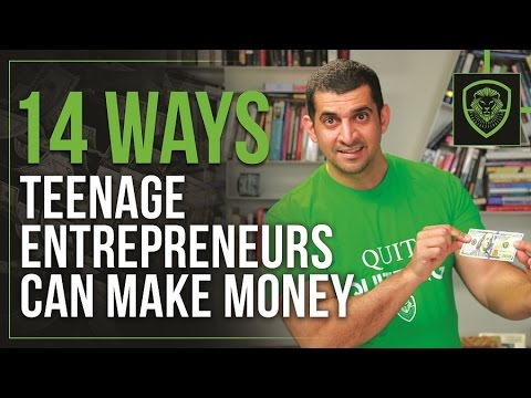 Xxx Mp4 14 Ways Teenage Entrepreneurs Can Make Money 3gp Sex