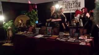 Pin Up Girl Booth at Vancouver Taboo Show 2015