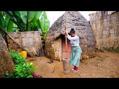 Incredible UNSEEN FOOD of AFRICA Dorze Ethnic Group in Ethiopia