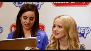 Dove Cameron and Sofia Carson Disney Villains Game | Radio Disney