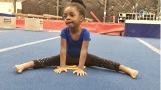 Amazing Straddles | Girls Gymnastics