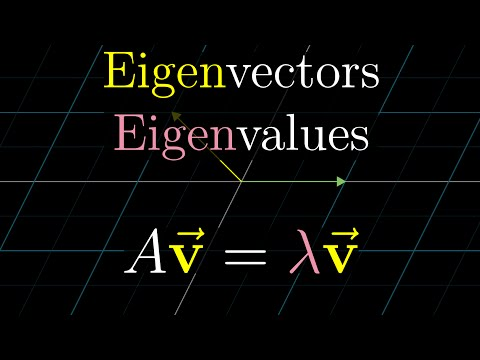 Eigenvectors and eigenvalues | Essence of linear algebra, chapter 10
