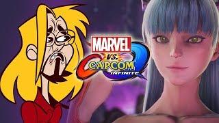 MORRIGAN, YOUR FACE! Story Mode Pt. 3 - Marvel Vs. Capcom Infinite