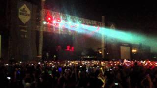 DAVID GUETTA FIRST LIVE VIDEO IN DELHI CONCERT,INDIA