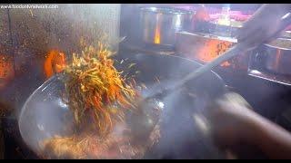 Street Food Cooking Fatafat   Amazing Chinese Wok Skills