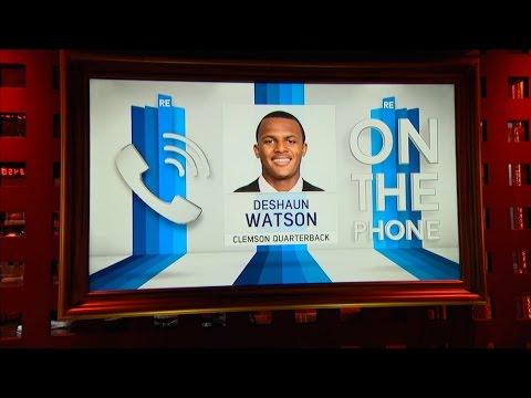 Clemson QB Deshaun Watson Talks NFL Draft & More 4 21 17