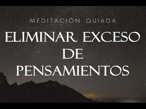 MEDITACIÓN GUIADA PARA ELIMINAR EL EXCESO DE PENSAMIENTOS Ansiedad TOC Depresión ♥ EASY ZEN