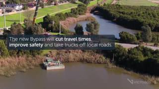Geotechnical Works on the Mordialloc Bypass