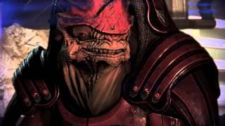 Mass Effect 3 Sur'Kesh Wrex meets Javik