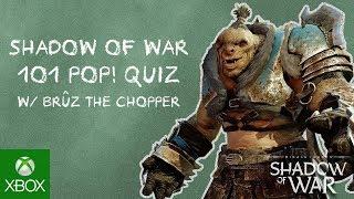 Official Shadow of War 101 Trailer feat. Bruz the Chopper