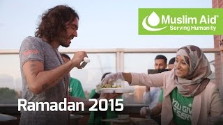 Muslim Aid - Ramadan 2015 with The Salvation Army (and Russell Brand!)