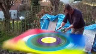 Brian John Spin painting