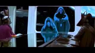 Star Wars Episode I Phantom Menace Darth Sidious scenes