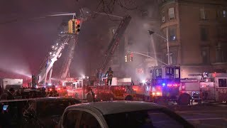 Deadly 5-alarm fire erupts on New York City movie set