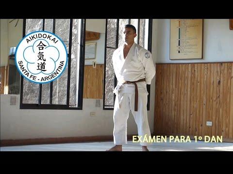 Aikido examen Primer Dan Ezequiel Vargas, dojo Correa, Aikidokai Santa Fe