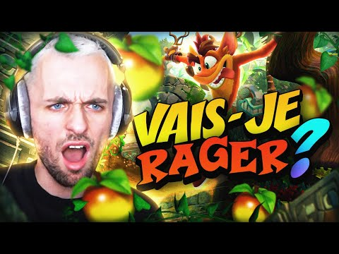 VAIS JE RAGER oui. 😡 Crash Bandicoot 4