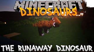 Minecraft Dinosaurs - Part 9: The Runaway Dinosaur.