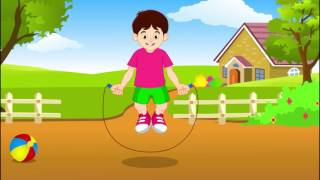 Collection of Nursery Rhymes, Bounce The Ball, Colour Rhyme, Hop a Little
