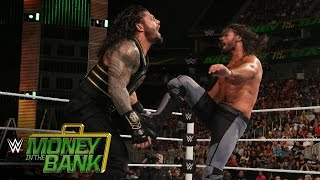 Roman Reigns vs. Seth Rollins – WWE World Heavyweight Titel Match: WWE Money in the Bank 2016