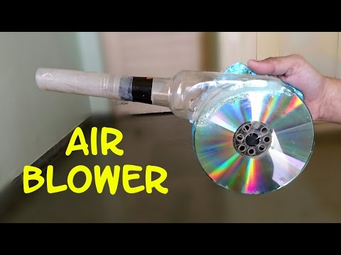 Xxx Mp4 How To Make A Powerful Air Blower Using CD And Bottle Easy Way 3gp Sex