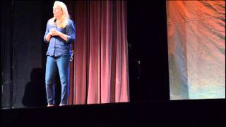 My awesome obsession -- writing, reading, saving letters | Nina Sankovitch | TEDxSHS