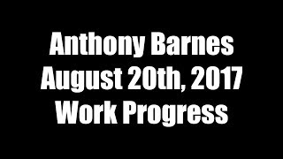 Projects in the Making as of August 20, 2017