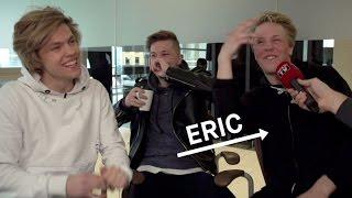 Eric er det nye medlemmet i «The Main Level»