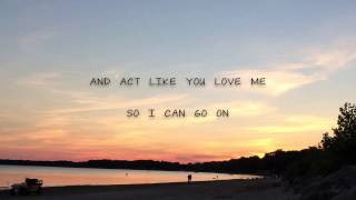 Act Like You Love Me  Shawn Mendes Lyrics Live
