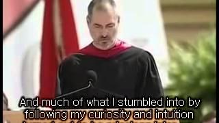 Steve jobs-Stanford motivational speech- English Sub pt1