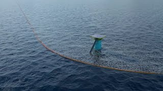 A 22-year-old has raised $30M to fund his idea behind cleaning up plastic in the ocean