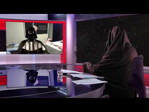 BBC Robert Kelly s interview Star Wars version