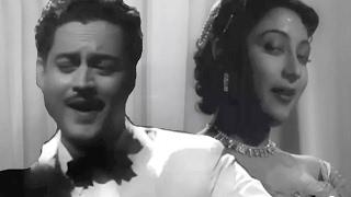 Hum Aap Ki Ankhon Mein - Guru Dutt, Mohammed Rafi, Geeta Dutt, Pyaasa Romantic Song ( Duet)