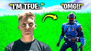 I Pretended To Be Tfue In Fortnite