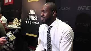 Jon Jones Says What Will Heavyweight Fight Happen