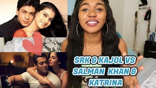 ShahRukh and Kajol vs Salman and Katrina Couples Songs Battle| SOB CHALLENGE
