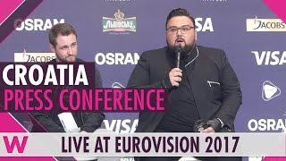 Croatia Press Conference — Jacques Houdek