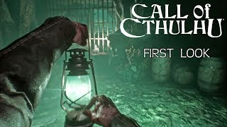 Call of Cthulhu - First Look Gameplay (New Survival Horror Game 2018)