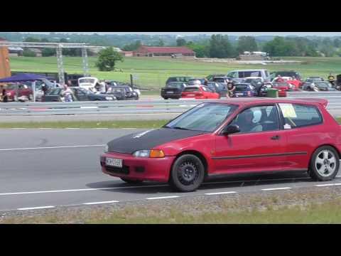 Honda Civic Cieślik 3.runda OES Toru Łódź