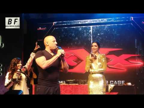 Lungi Dance By Vin Diesel & Deepika Padukone  At Pheonix Mumbai - XXX Returns Xander cage