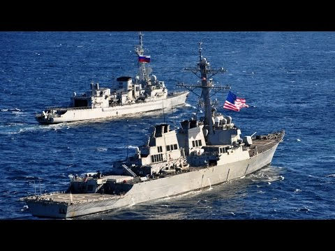 US Provocations: US destroyer gets dangerously close to Russian frigate